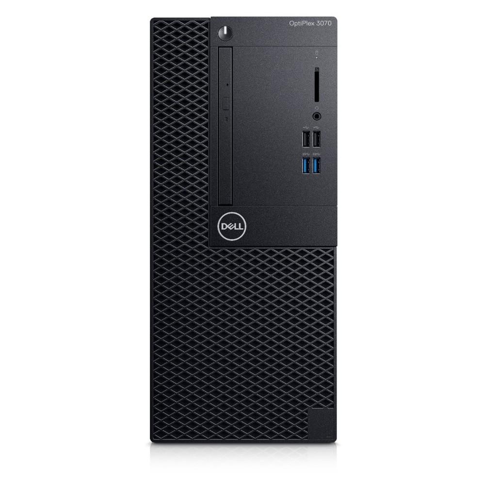 DELL PC OptiPlex 3070 MT/i3-9100/8GB/256GB SSD/UHD Graphics 630/DVD-RW/Win 10 Pro/5Y NBD