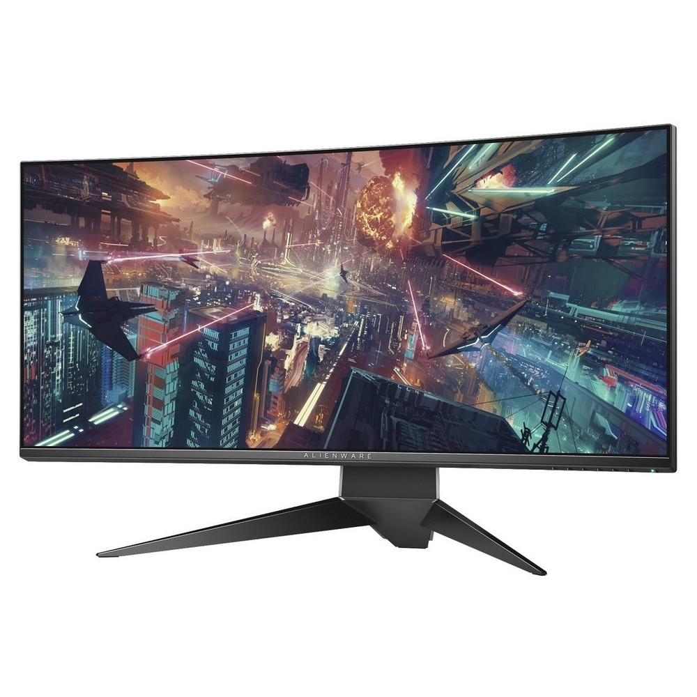 DELL MONITOR ALIENWARE CURVED AW3418DW 34 WQHD, LED, OSD, HDMI, DisplayPort, Height Adjustable, Sw