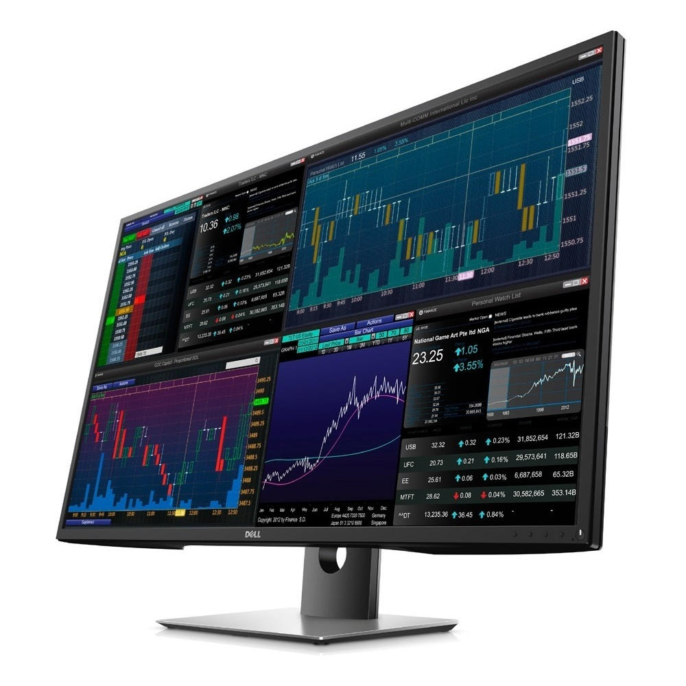 DELL Monitor P4317Q 43 IPS, UHD 4K, HDMI, DisplayPort, Speakers, 3YearsW